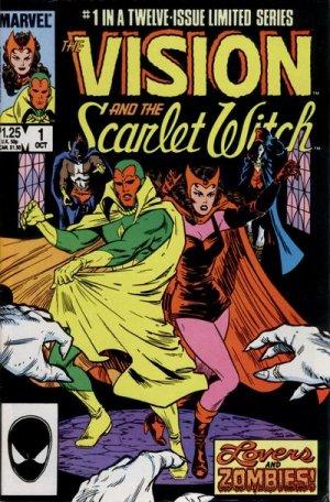 Vision et La sorcière rouge édition Issues V2 (1985 - 1986)