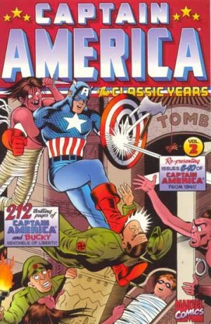 Captain America Comics # 2 TPB softcover (souple)