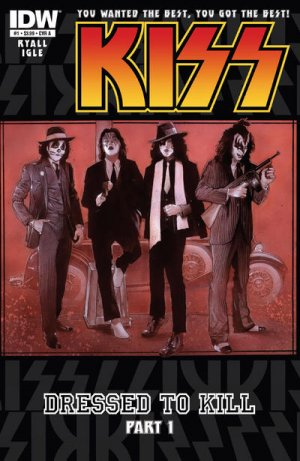 KISS édition Issues V4 (2012-2013)