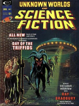 Unknown Worlds of Science Fiction édition Magazines (1975)