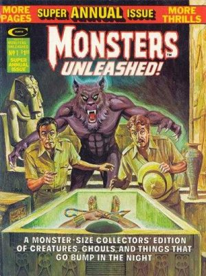 Monsters Unleashed édition Issues V1 - Annual (1975)