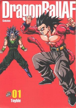 couverture, jaquette Dragon Ball AF 1  (Editeur FR inconnu (Manga))