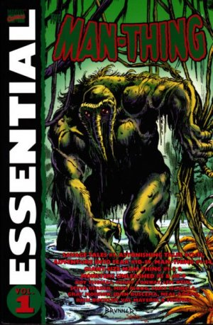 Man-Thing édition TPB Softcover (souple) - Essential