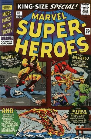 Marvel Super-Heroes édition Issues V1 - King-Size Special (1966)