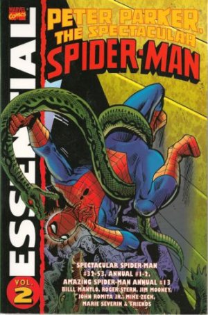 Spectacular Spider-Man édition TPB Softcover (souple) - Essential