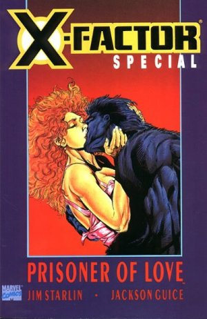 X-Factor - Prisoner of Love édition TPB softcover (souple)