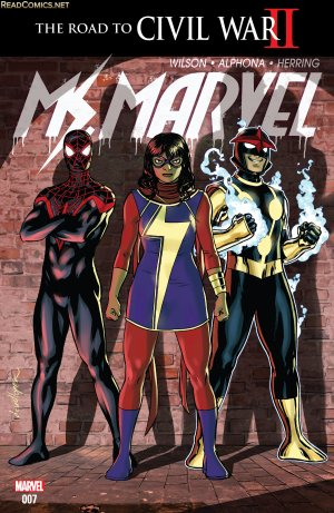 Ms. Marvel # 7 Issues V4 (2015 - 2019)