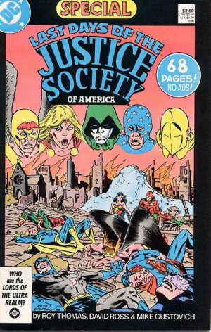 Last Days of The Justice Society of America édition Issue (1986)