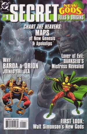 New Gods - Secret files and origins édition Issues