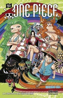 couverture, jaquette One Piece 53  (Glénat Manga) Manga
