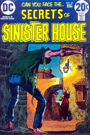 Secrets of Sinister House # 10 Issues