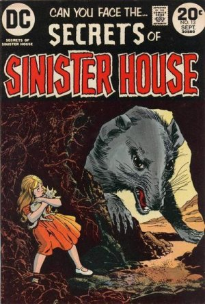 Secrets of Sinister House # 13 Issues