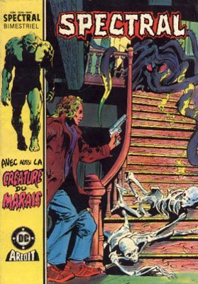 The saga of the Swamp Thing # 7 Kiosque V3 (1985 - 1988)