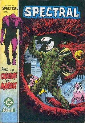 The saga of the Swamp Thing # 9 Kiosque V3 (1985 - 1988)