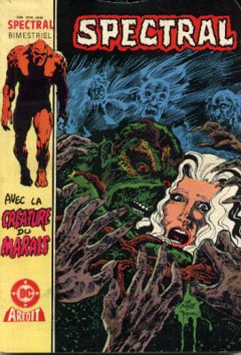 The saga of the Swamp Thing # 11 Kiosque V3 (1985 - 1988)