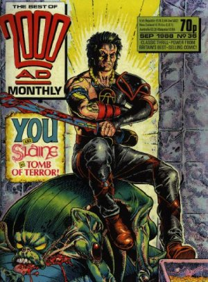 The Best of 2000 AD Monthly édition Kiosque mensuel