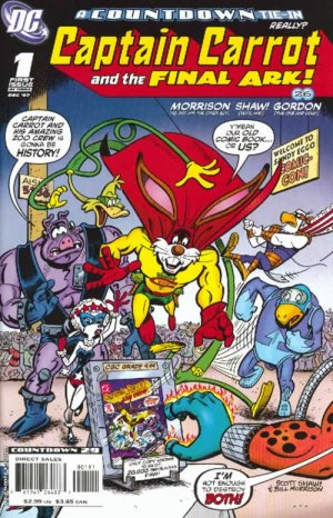 Captain Carrot and the Final Ark édition Issues (2007 - 2008)