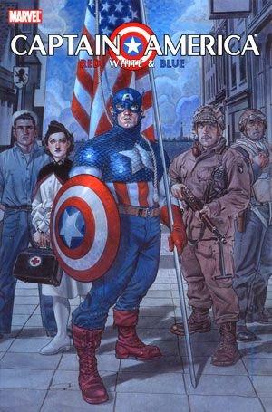 Captain America - Rouge, Blanc & Bleu édition TPB hardcover (cartonnée)