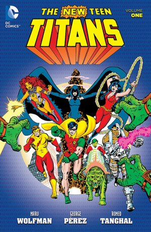 The New Teen Titans édition TPB softcover (souple)