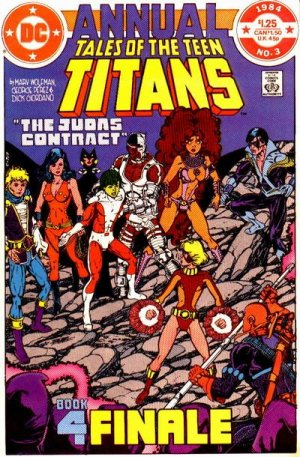 Tales of the Teen Titans édition Issues V2 - Annuals (1984 - 1986)