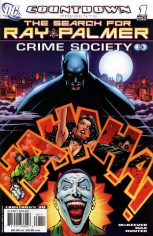 Countdown Presents - The Search for Ray Palmer - Crime Society édition Issues (2007)