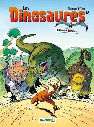Les dinosaures en bande dessinée édition Réédition 2017