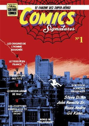 Comics Signatures édition Kiosque