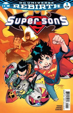 Super Sons # 1 Issues V1 (2017 - 2018)