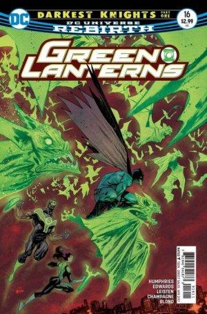 Green Lanterns 16 - Darkest Knight - part one