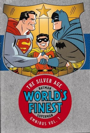 Batman and Superman in World's Finest - The Silver Age édition TPB hardcover (cartonnée) - Omnibus
