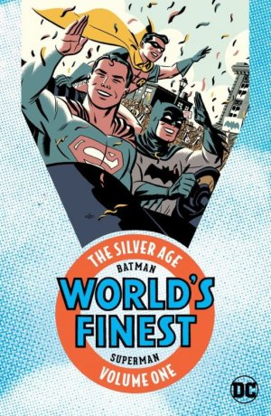 Batman and Superman in World's Finest - The Silver Age édition TPB softcover (souple)