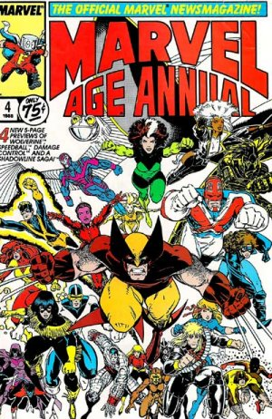 Marvel Age édition Annuals (1985 - 1988)
