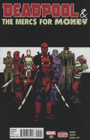Deadpool and The Mercs For Money # 5 Issues V1 (2016)