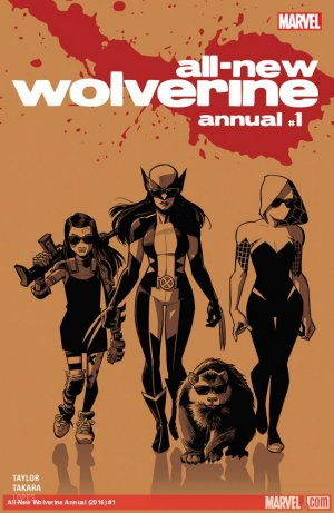 All-New Wolverine édition Annual (2016)