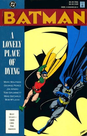 Batman - A Lonely Place of Dying édition TPB softcover (souple)