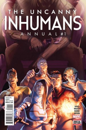 The Uncanny Inhumans édition Issues V1 - Annuals (2016)