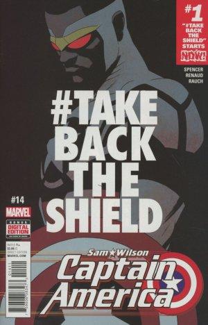 Sam Wilson - Captain America # 14 Issues (2015 - 2017)