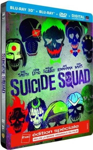Suicide Squad édition Steelbook Spécial Fnac