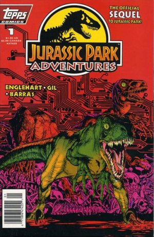 Jurassic Park Adventures édition Issues (1994 - 1995)