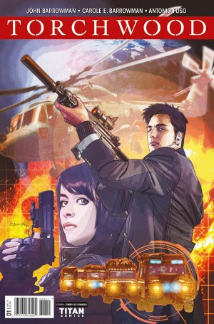 Torchwood édition Issues V2 (2016)