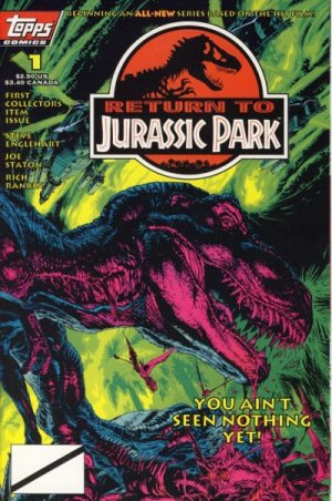 Return to Jurassic Park édition Issues (1995 - 1996)