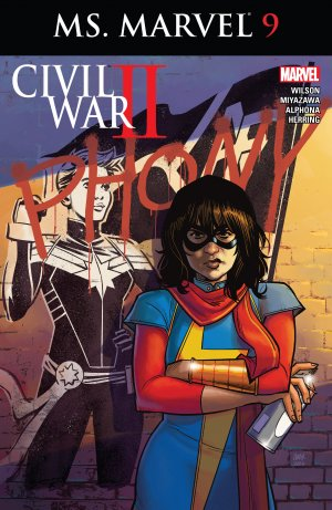 Ms. Marvel # 9 Issues V4 (2015 - 2019)