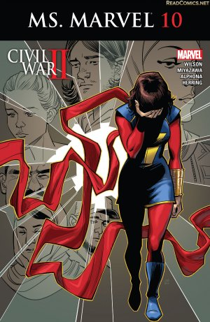 Ms. Marvel # 10 Issues V4 (2015 - 2019)