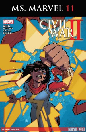 Ms. Marvel # 11 Issues V4 (2015 - 2019)
