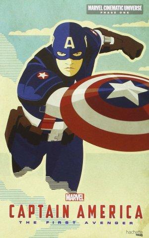 couverture, jaquette Marvel Cinematic Universe - Phase One 4  - Captain America (Hachette BD) Roman