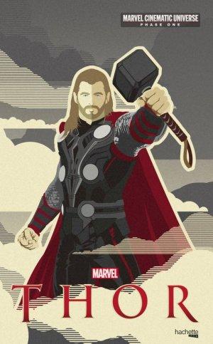 couverture, jaquette Marvel Cinematic Universe - Phase One 3  - Thor (Hachette BD) Roman