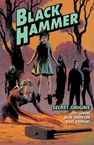 Black Hammer édition TPB softcover (souple)
