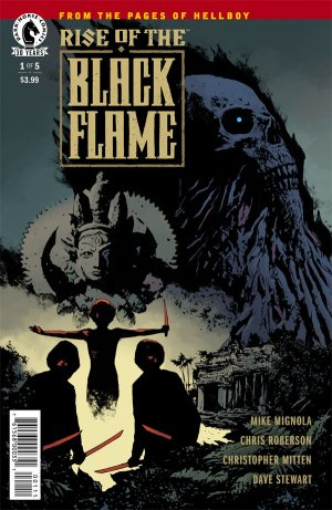 Rise of the Black Flame édition Issues (2016 - 2017)