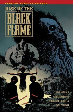Rise of the Black Flame édition TPB softcover (souple)