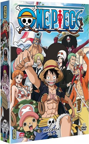 One Piece 8 DVD - Saison 13 - Dressrosa